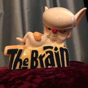 Vintage Pinkey & the Brain ceramic collectable